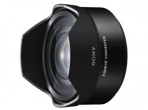 New SONY VCL-ECF2 Fisheye Converter for And 16mm F2.8, and 20mm f2.8 Japan