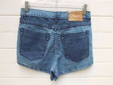 ONE TEASPOON 'ROMEOS' BLUE MINI Denim JEAN SHORTS FESTIVAL 24