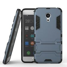For MEIZU MX6 Pro 6 Case Hard Armor KickStand Shockproof Dual Protective Cover