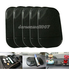 5pcs Car Anti Slip Mat Dashboard Sticky Pad Sticky Holder Mat For Cell Phone Key