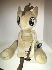Dr Who Plush Backpack MLP My Little Pony Friendship is Magic Doctor Hooves H1