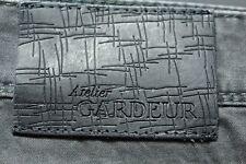 NEW DESIGNER JEANS Gardeur 42 X 32 NEVIO Cashmere Cotton Touch 3% Elastane GRAY