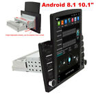 10.1in Android 8.1 Quad-Core Car Stereo Radio GPS Nav Wifi Mirror Link Player