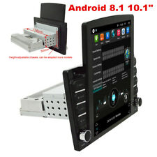 10.1in Android 8.1 Quad-Core Car Stereo Radio Gps Nav Wifi Mirror Link Player (Fits: Fiat)