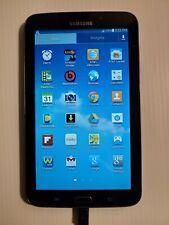 Samsung Galaxy Tab 3 SM-T217A 16GB, Wi-Fi   4G AT&T With Power source Nice!