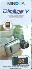Camera Brochure - Minolta - Dimage V - 1997 (CB294) N