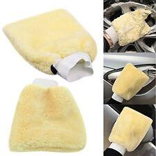 2 piezas Microfibra Guante Lavado de cuidado de coche de Lana Guante Lavado a Mano Limpiador Suave Nuevo