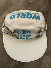 ODYSSEY OF THE MIND ~ WORLD FINALS 1990 PINS ~ 31 pieces + Hat !!