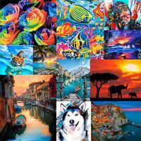 Scenery Animal DIY Paint By Numbers Kit Digital Oil Painting Artwork Home Decor