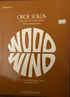 Oboe Solos - Volume 1, New, Brown, Phyllis Book