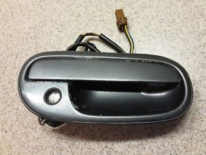1990 -1996 Nissan 300zx Z32 RT Right Passenger Side Exterior Door Handle Gray OE