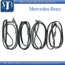 OE Mercedes-Benz W201 190 190E 190D Satz 4 Türdichtungen vorne & hinten