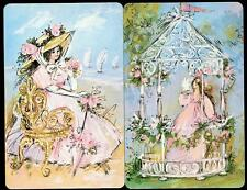FRENCH LADY THEME CARDS IN EXCELLENT CONDITION