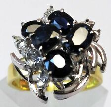 Ring Sapphire Vintage & Antique Jewellery
