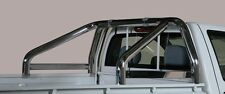 ROLL BAR MARK SPONDE MISUTONIDA INOX D. 76MM 2 TUBI PER ISUZU D-MAX 4WD CREW 3.0