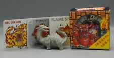 vintage Japanese NECLOS FORTRESS keshi figure FIRE DRAGON rubber monster part 5