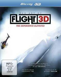The Art of Flight 3D - The Experience Elevated [3D Blu-ray/NEU/OVP] Snowboard-Ac