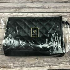 Younique black quilted make up bag