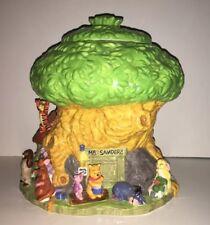 Disney Winnie the Pooh Treehouse Cookie Jar