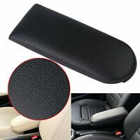 Black Leather Armrest Cover Center Console Lid For VW Jetta Golf Beetle MK4 L4P5