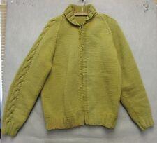 S2314 1970's Hand Made Cowichan Full Zip Western w/ Cowboy Heavy Wool Jacket