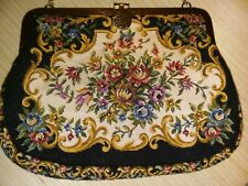 Vtg Tapestry Purse