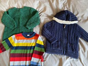 Boys Bundle Jumpers Aged 3-4 M&S Baby Gap
