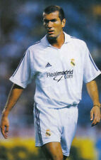 Football Photo>ZINEDINE ZIDANE Real Madrid 2000s