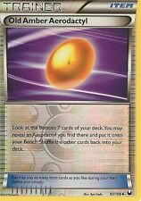Pokemon Black and White Dark Explorers Old Amber Aerodactyl 97 108 Rev Holo