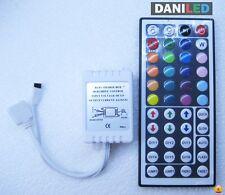 Controlador RGB Tira LED SMD 3528 - 5050  44 BOTONES IR- PROGRAMABLE (NUEVO)