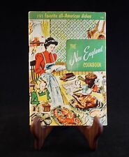 The New England Cookbook 191 Favorite All-American Dishes  1973