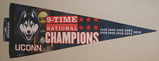 UConn Huskies Womens Basketball Pennant 2014 9-Time National Champions 29""