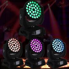 4pc 36x10W RGBW 4in1 LED Zoom Moving Head Stage Light Moving Light Effect Xmas