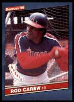 1986 Donruss Rod Carew California Angels #280