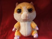 """Lil/Li'l Peepers 6"""" approx Biscuit Hamster Soft Toy / Teddy by Russ Berrie"""