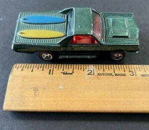 1969 Topper Johnny Lightning Custom El Camino Redline diecast car (AM)