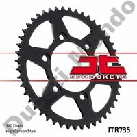 Rear sprocket 44 tooth JT steel for Ducati Monster Supersport 851 888 907 Paso