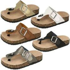 Sandali e scarpe Spot On in pelle sintetica per il mare da donna