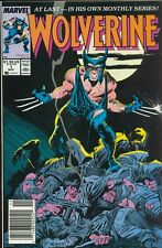 Wolverine # 1 Very Fine Regular Series November 1988 Marvel Comics Newsstand Var