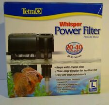 Tetra Whisper Power Filter 20-40 gallons, Supports up to a 40-Gallon Aquarium