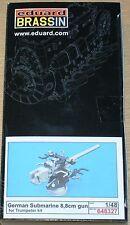 8,8cm tedesco U-Boot cannone di Eduard in 1/48 (per Trumpeter)