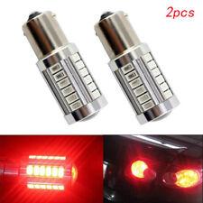 2pcs Red P21W 1157 BA15S Cree 33 SMD LED Bulb 5730 Super Bright Car Light Auto
