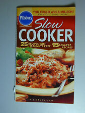 PILLSBURY Cookbook Booklet SLOW COOKER  Recipes 2004 #275