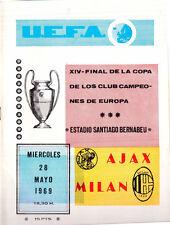 Europa Cup 1 Final AC Milan - Ajax 4-1 DVD Full Match