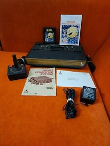 Vintage Atari 2600 4 Switch Console Bundle - Tested & Working!
