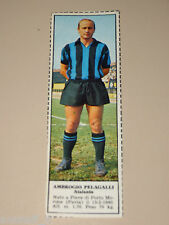 *+ AMBROGIO PELAGALLI ATALANTA=FIGURINA=1966/67=ALBUM FIGURINE CALCIATORI TEMPO