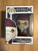 Harry Potter Funko POP! Albus Dumbledore Vinyl Figure #04 w/ Pop Protector
