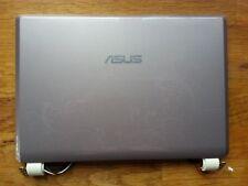 ASUS Eee PC900, lid, hinges, screen cabling, pink flowery, p/n 13G0A095AP020