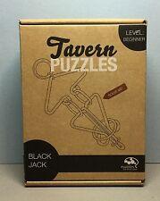 Tavern Puzzles (BLACK JACK) Boxed/LEVEL Beginner (EUC)