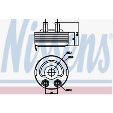 Nissens Ölkühler, Motoröl Nissan Almera Ii,Almera Tino,Np300 90719 Nissan